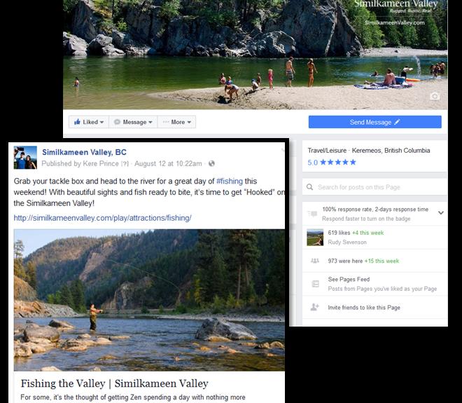 Similkameen Valley Social Media Statistics Continue to Grow