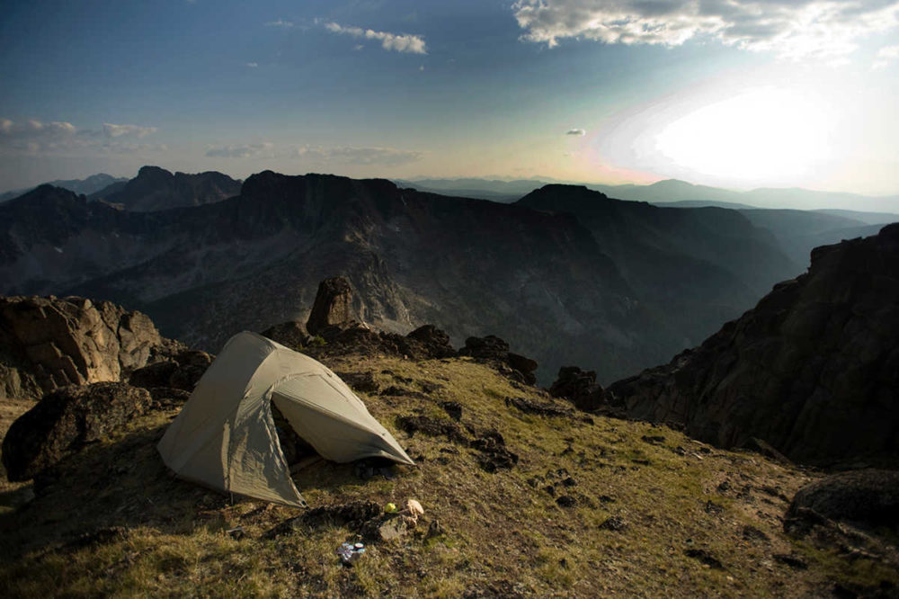 Backcountry camping, Cathedral Lakes