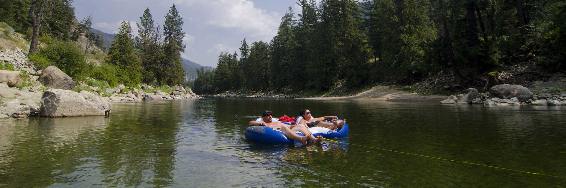 Floating the River - Similkameen Valley