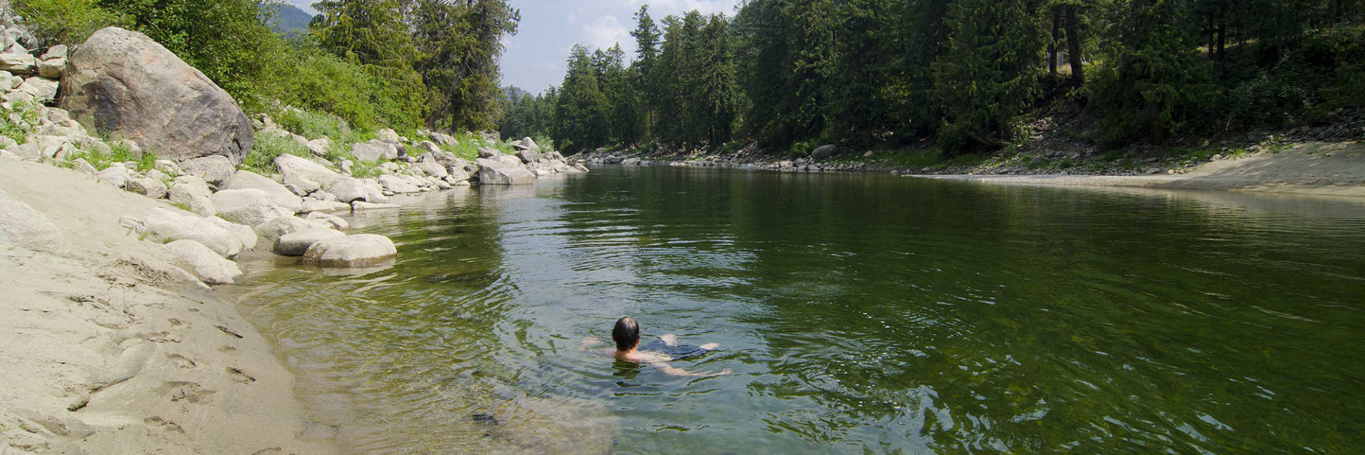 Our Story - swimming in the Similkameen