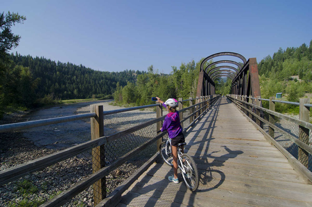 The KVR Trail near Princeton