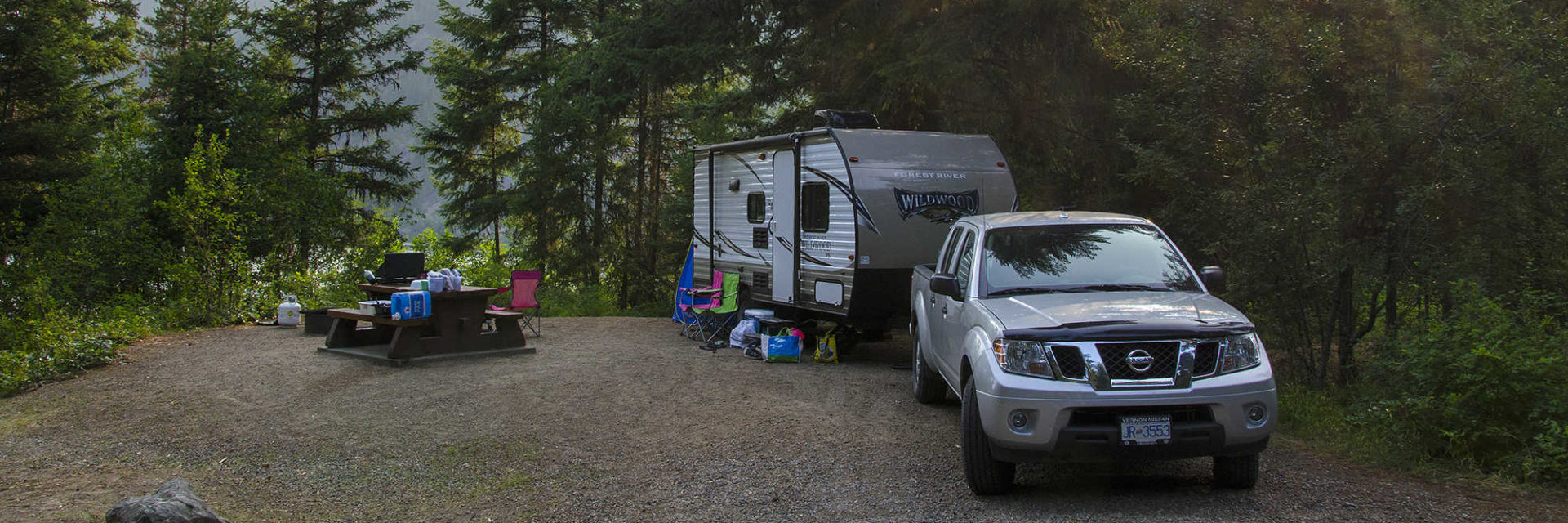 Camping & RVing in the Similkameen