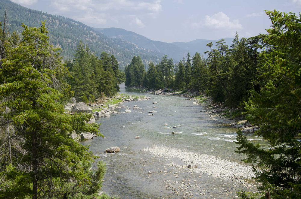 Similkameen River at Hedley