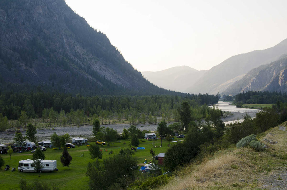 Camping & RV park, Hedley