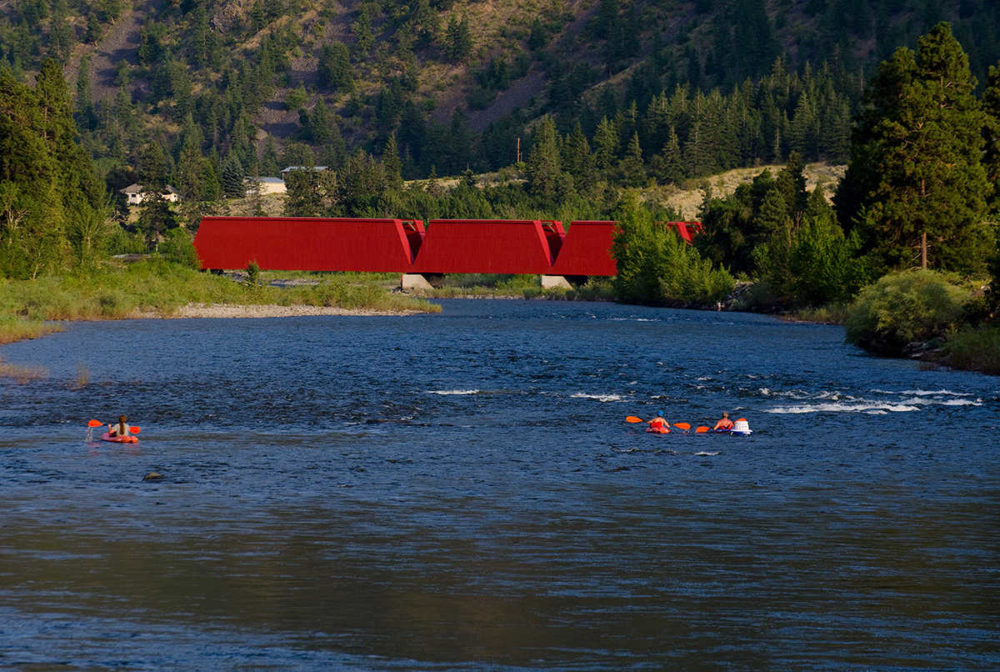Red Bridge near Keremeos