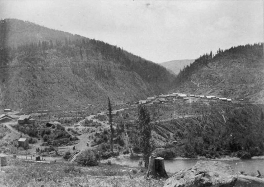 Granite Creek circa 1888