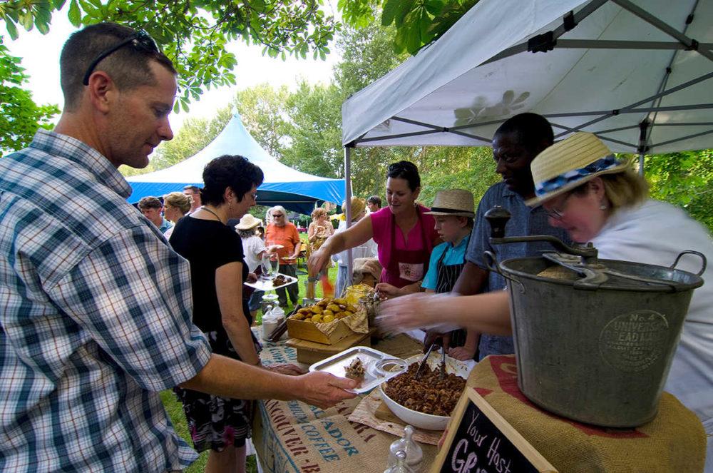 Summer events often involve food!