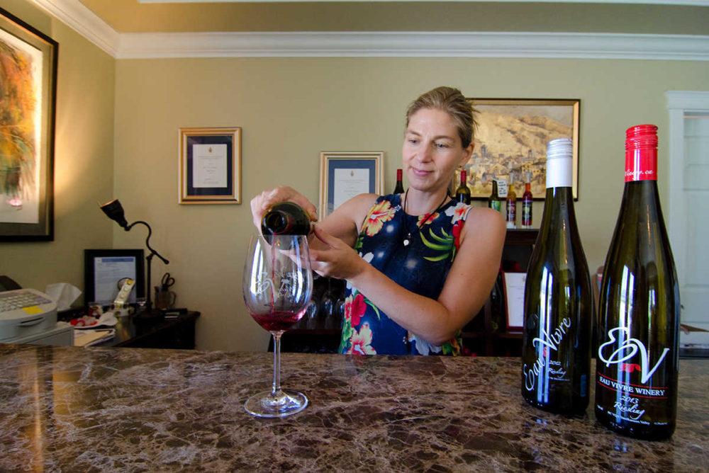 More than a dozen wineries