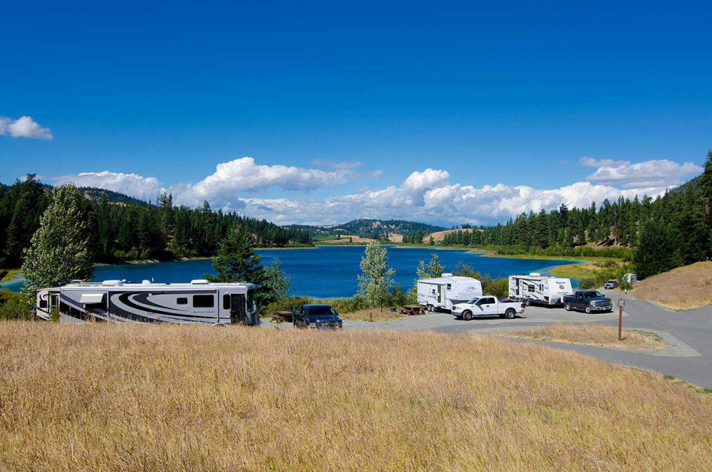 Lakeside RV site