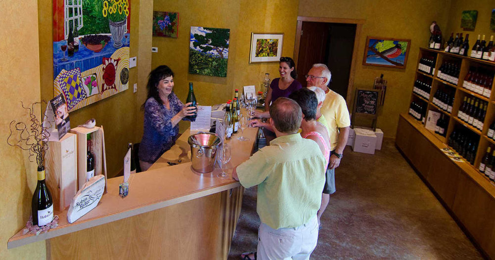 Wine tour & tasting at Robin Ridge