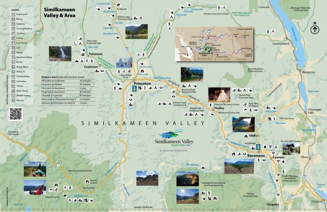 Recreation Highlights Map