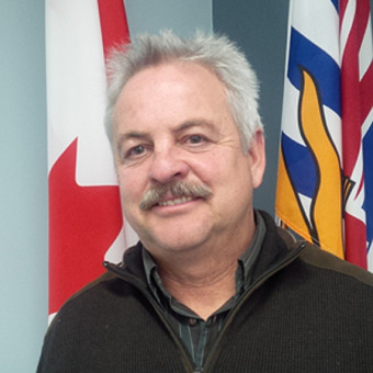 Chair of the Similkameen Valley Planning Society, and Mayor of Keremeos, Manfred Bauer