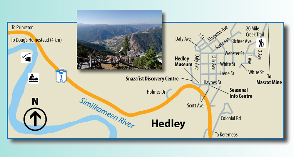 Hedley map
