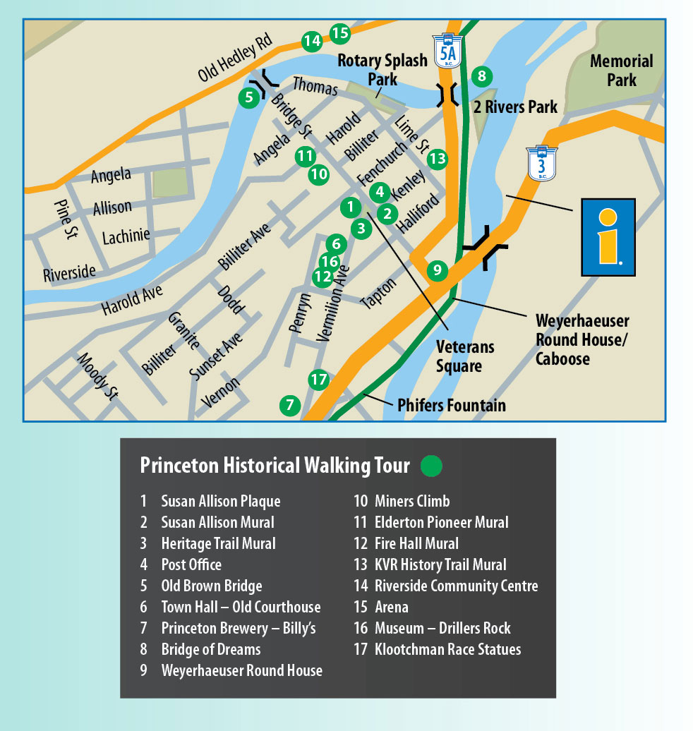 Princeton Walking Tour Map