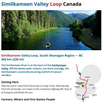 Similkameen Valley, South Okanagan, Route 97