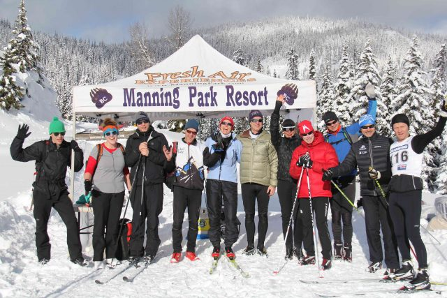 Nordic skiing at Manning Park