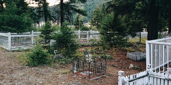 Granite Creek Cemetary, Similkameen Valley