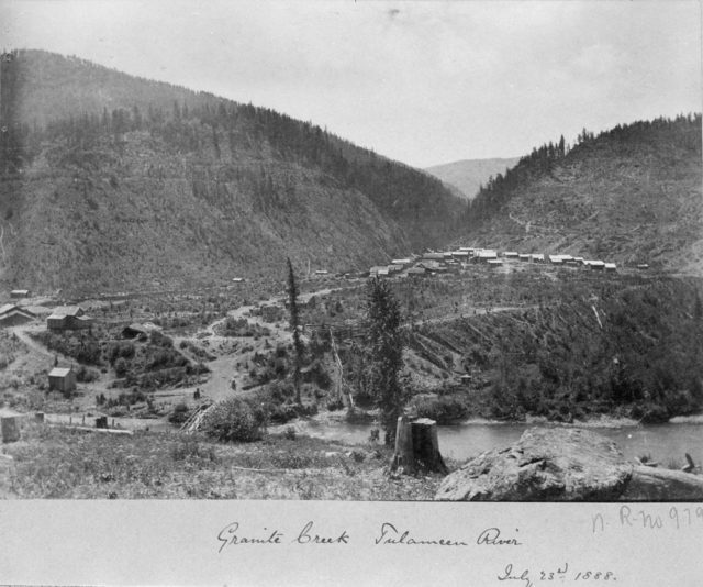 Granite Creek Ghost Town circa 1888