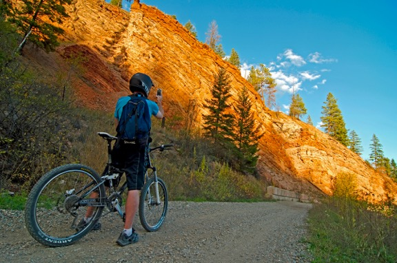 Spend a day on the trails. Check out the Kettle Valley Rail Trail part of the Trans Canada Trail