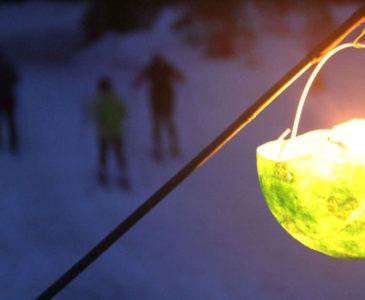 Lantern Lit Ski