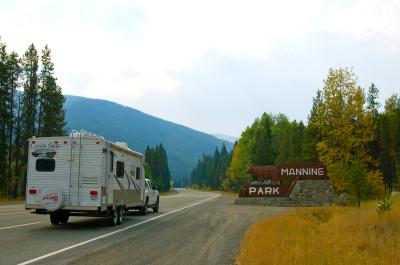 Manning Park Entrance