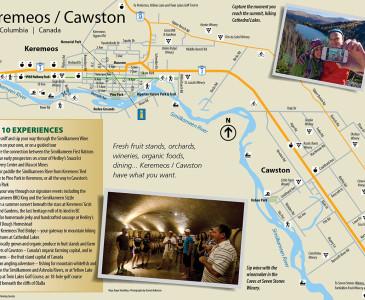 Keremeos / Cawston Map