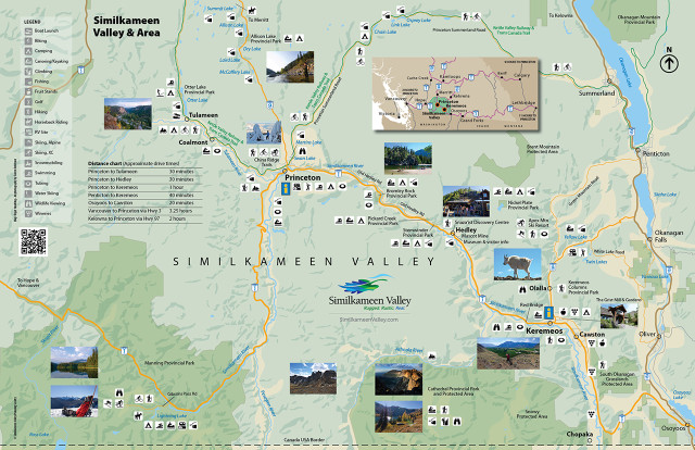 Pad map: Similkameen Valley