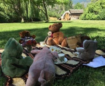Teddy Bear Picnic at Grist Mill and Gardens