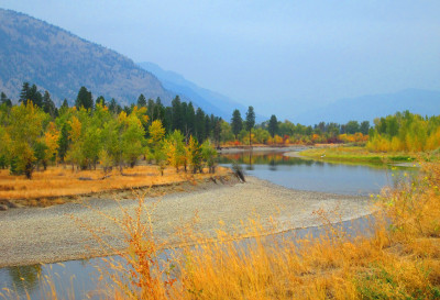 Beautiful Fall colours in the Similkameen Valley
