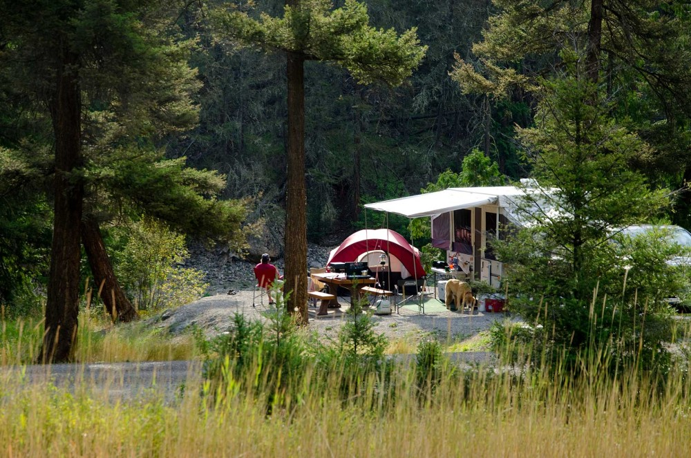 Camping and RVing in the Similkameen