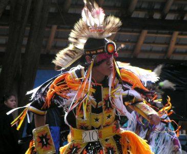 Cawston, BC - aboriginal dancing