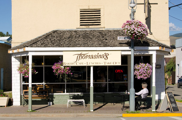 Thomasina's in Princeton, Similkameen Eateries
