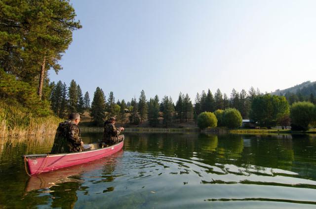Fishing in the Similkameen