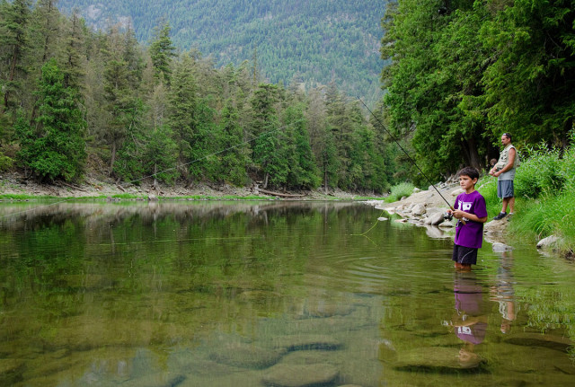 Fishing in the Similkameen