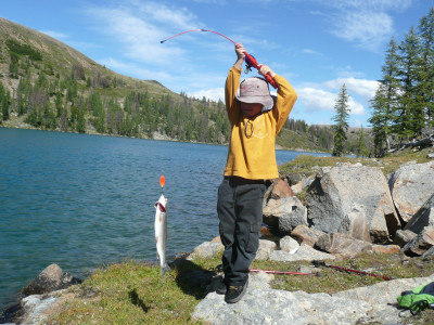 Fishing the Similkameen