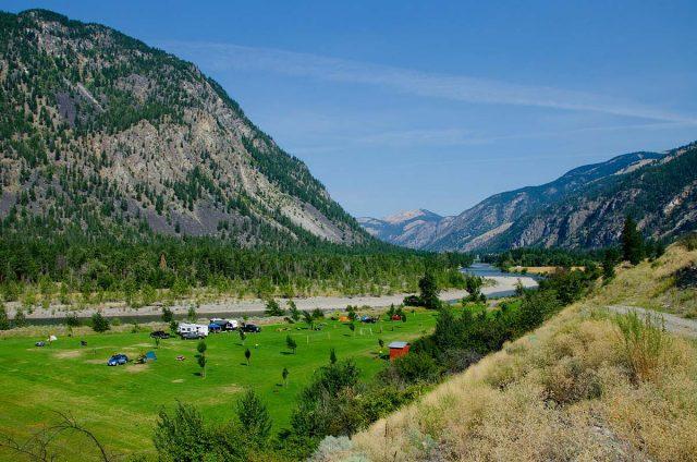 Hedley, BC - camping