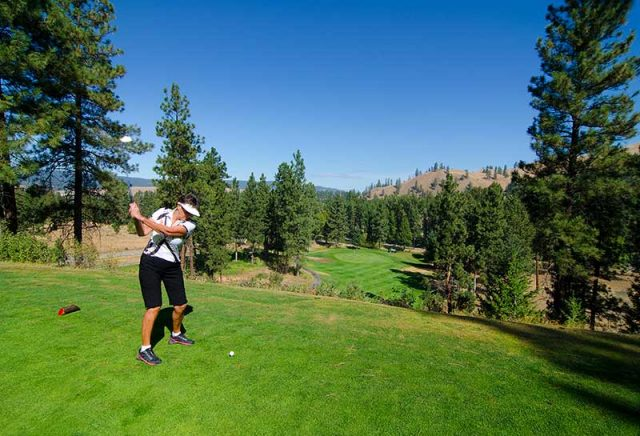 Golfing in the Similkameen Valley