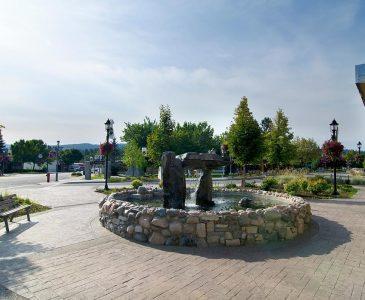 Princeton, BC fountain