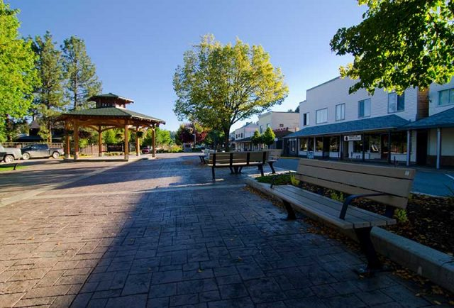 Princeton town square