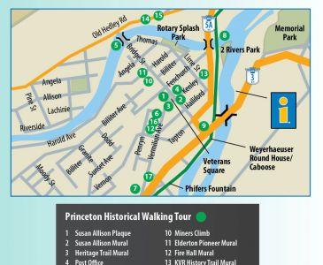 Princeton Walking Tour Map