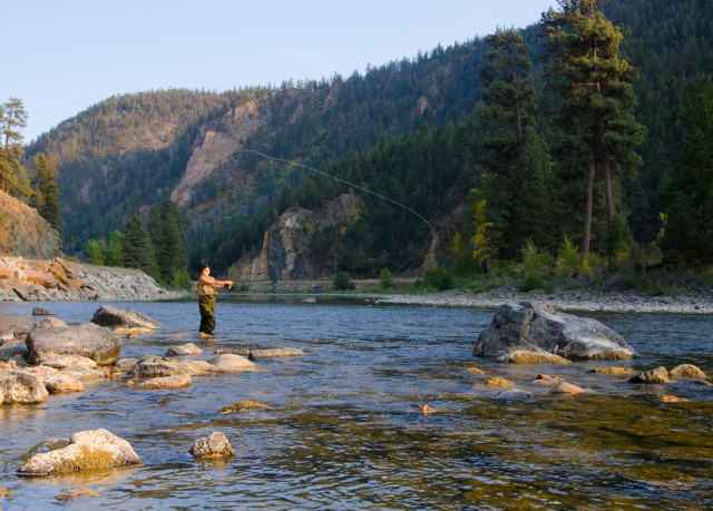 Fly Fishing Similkameen River, Authentic Experiencer