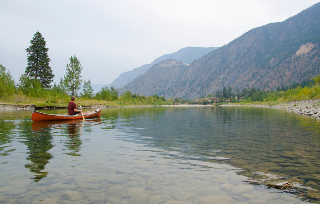 Canoeing Similkameen River, Authentic Experiencer EQ