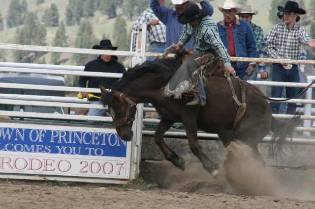 Spring means Rodeo time in the Similkameen Valley