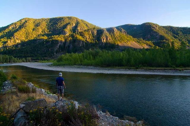 Similkameen River view