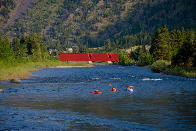 Kayaking the Similkameen