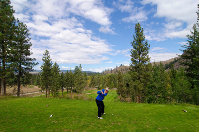 Golf in the Similkameen