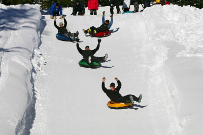 Winter fun! Snow tubing in Similkameen Valley
